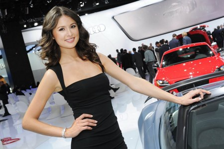 Xinh tươi người mẫu tại NAIAS 2012 - 17