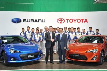 Subaru bắt đầu sản xuất xe BRZ và Toyota 86