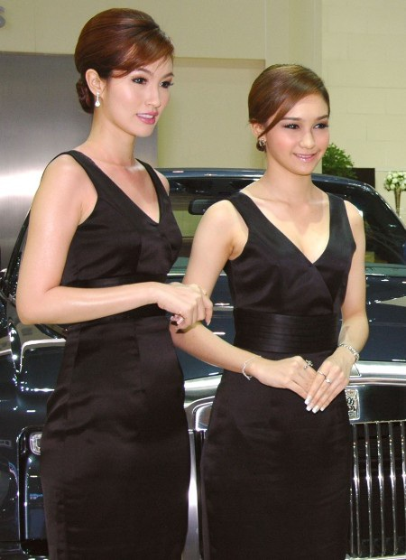 Bóng hồng tại Bangkok Motor Show 2012 - 3