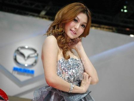 Bóng hồng tại Bangkok Motor Show 2012 - 15