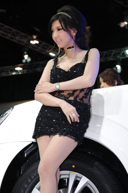 Bóng hồng tại Bangkok Motor Show 2012 - 19