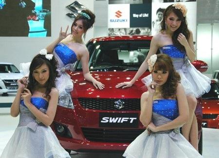 Bóng hồng tại Bangkok Motor Show 2012 - 20