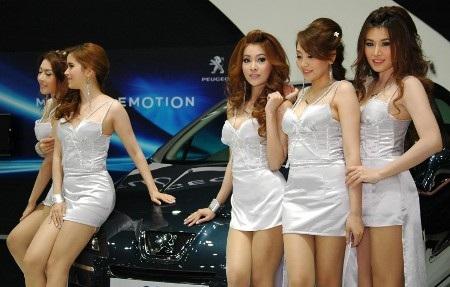 Bóng hồng tại Bangkok Motor Show 2012 - 28