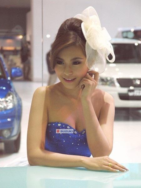 Bóng hồng tại Bangkok Motor Show 2012 - 29