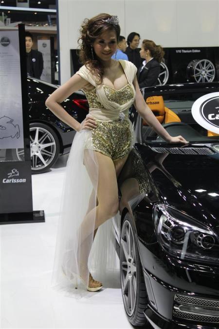 Bóng hồng tại Bangkok Motor Show 2012 - 5