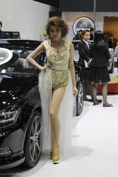 Bóng hồng tại Bangkok Motor Show 2012 - 6