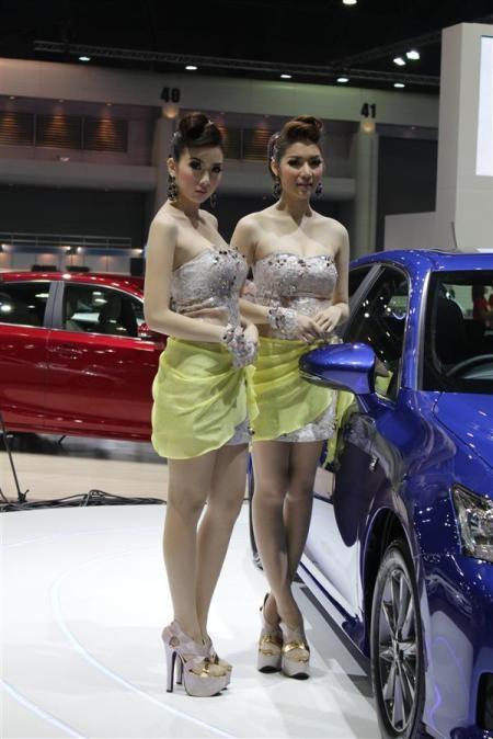 Bóng hồng tại Bangkok Motor Show 2012 - 8