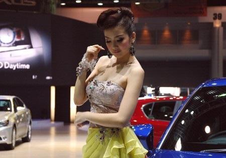 Bóng hồng tại Bangkok Motor Show 2012 - 24