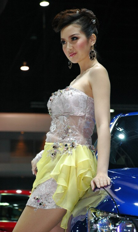 Bóng hồng tại Bangkok Motor Show 2012 - 25