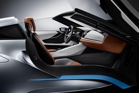 BMW giới thiệu xe i8 Spyder Concept