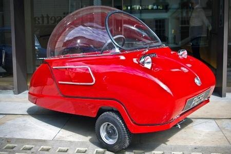 Xe ôtô nhỏ nhất thế giới tái xuất thị trường