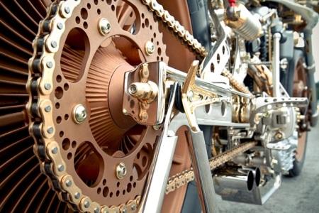 Động cơ Harley Ironhead 1984 dung tích xy-lanh 1.000cc