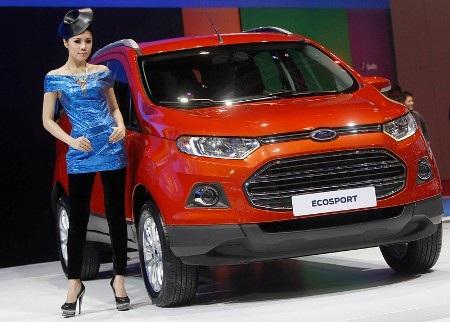 Xe Ford Ecosport ra mắt thị trường Đông Nam Á (Ảnh: Reuters)