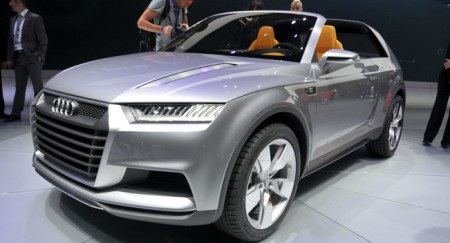 Mẫu Crosslane Coupé concept tại Triển lãm ô tô Paris 2012