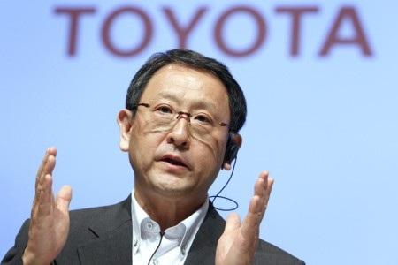 Ông Akio Toyoda - Chủ tịch kiêm Giám đốc điều hành (CEO) của