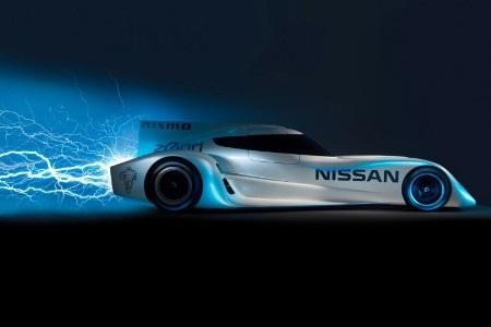 Nissan trình làng xe đua chạy điện nhanh nhất thế giới