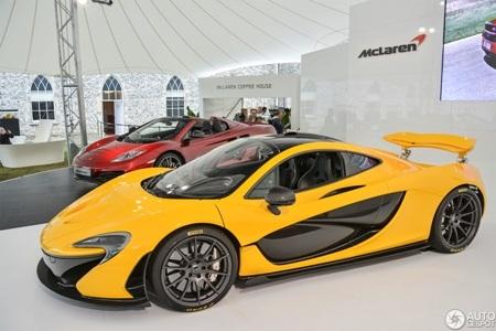 """Bộ sưu tập hình nền """"ông hoàng tốc độ"""" McLaren P1"""