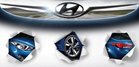 Hình ảnh đầu tiên về xe Hyundai Elantra mới