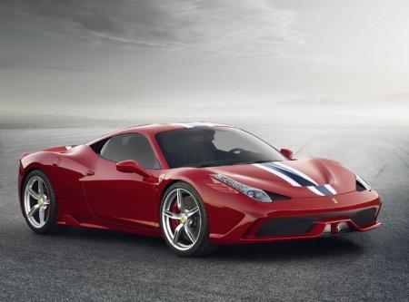 Thông tin và hình ảnh ban đầu về xe Ferrari 458 Speciale