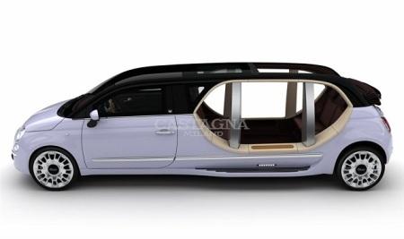 Lạ lẫm Fiat 500 Limousine