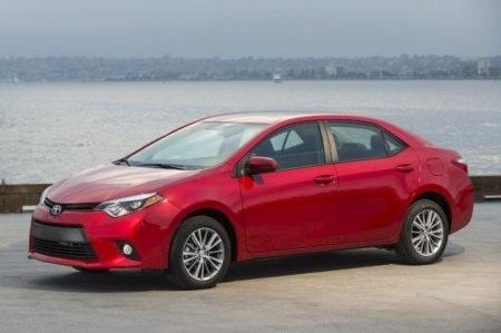 Tại thị trường Mỹ, xe Toyota Corolla