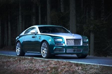 Mansory nâng công suất Rolls-Royce Wraith lên 740 mã lực