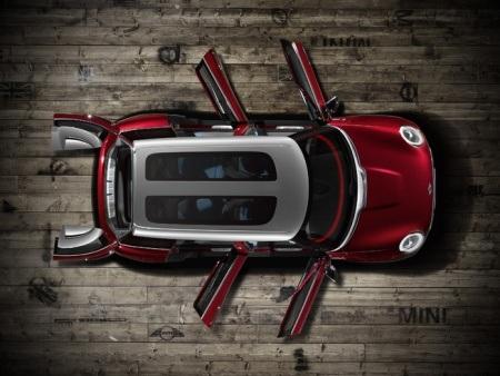Mini Clubman Concept gây chú ý với thiết kế 6 cửa