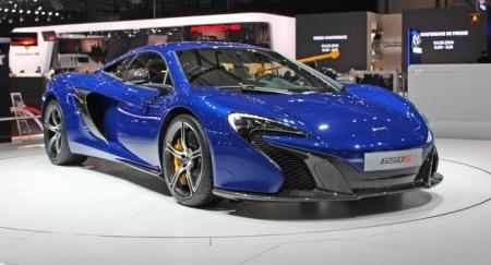 Mẫu 650S hoàn toàn mới của McLaren