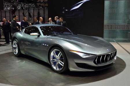 Maserati Alfieri Concept ra mắt tại Geneva