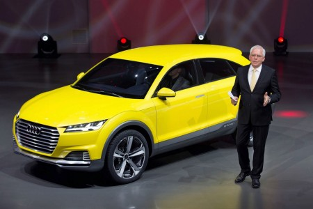 Audi giới thiệu xe TT offroad