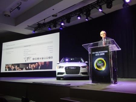 Audi A3 được vinh danh là Xe của năm 2014