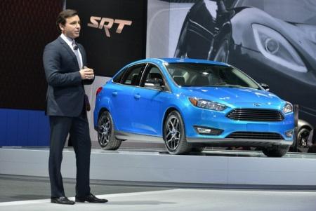 Ford Focus 2015 xuất hiện