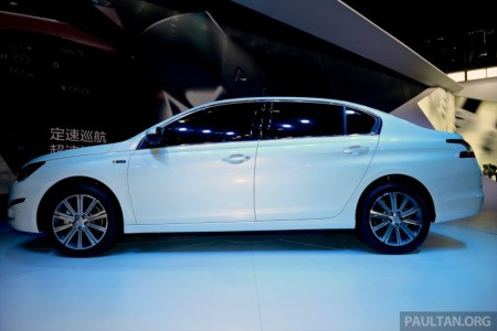 Peugeot 408 phiên bản mới ra mắt tại Trung Quốc