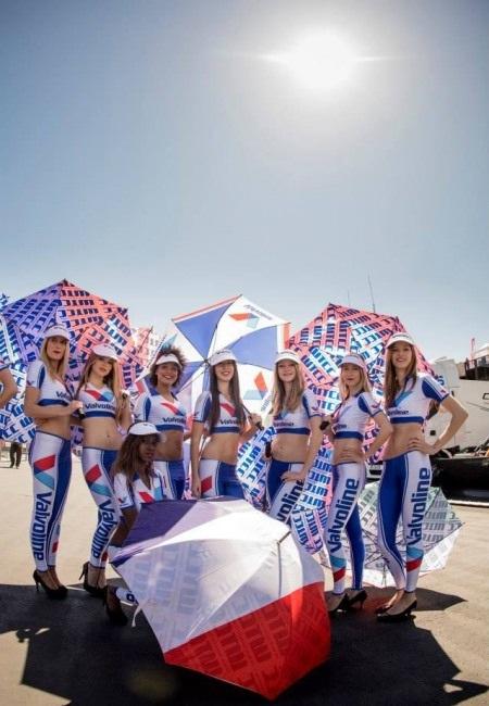 Người đẹp tỏa sáng đường đua giải WTCC