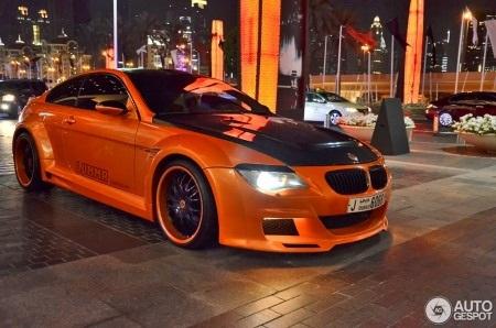 BMW Lumma Design CLR 600 - phiên bản đặc biệt độ từ bản BMW E63 M6 (Ảnh: Autogespot)