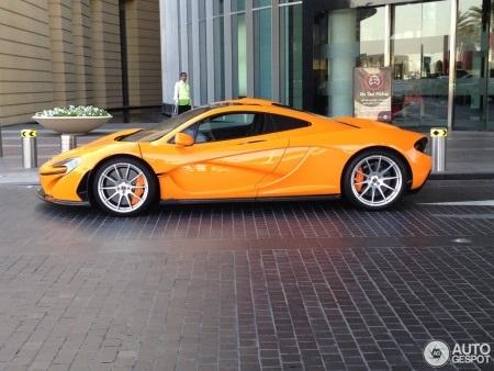 McLaren P1 công suất 900 mã lực (Ảnh: Autogespot)