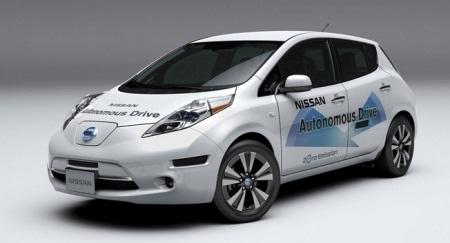 Nissan Leaf sẽ là mẫu xe đầu tiên được Nissan trang bị công nghệ tự lái