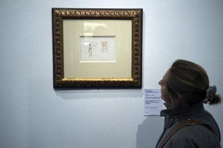 Đấu giá bức tranh gốc minh họa của cuốn truyện Hoàng tử bé