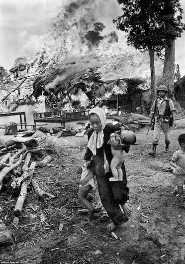 Chiến tranh Việt Nam và những hình ảnh rúng động thế giới