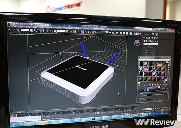 Thiết kế tạo dáng công nghiệp của bộ phát sóng trung tâm BZ.
