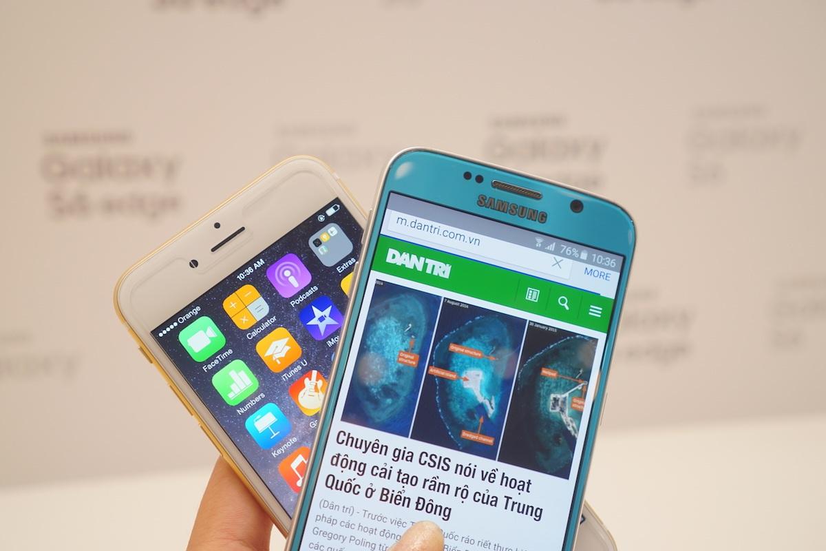 Samsung nhận đặt hàng kỷ lục 20 triệu Galaxy S6 và S6 Edge