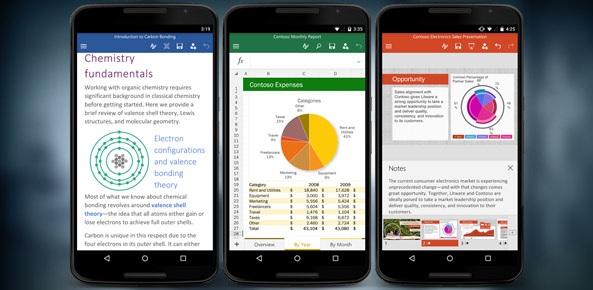 Microsoft phát hành bản Office miễn phí cho Android