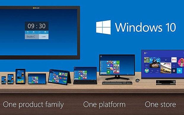 Microsoft chính thức ra mắt Windows 10 vào ngày 29/7