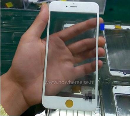 Màn hình iPhone 6S không có nhiều thay đổi so với phiên bản iPhone 6.