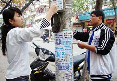Hà Nội cắt liên lạc hơn 1.600 số điện thoại quảng cáo, rao vặt - 1