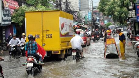 Hà Nội còn 21 điểm úng ngập nếu mưa lớn