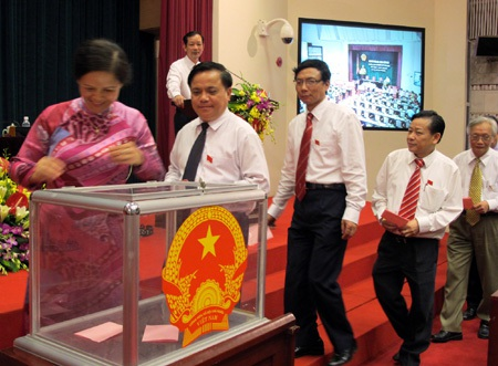 HĐND thành phố Hà Nội sẽ xem xét tờ trình lấy phiếu tín nhiệm lãnh đạo