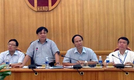 HĐND thành phố Hà Nội họp báo trước kỳ họp thứ 7