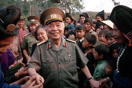 Hình ảnh Đại tướng đẹp mãi trong lòng mỗi người dân Việt Nam (Ảnh tư liệu)