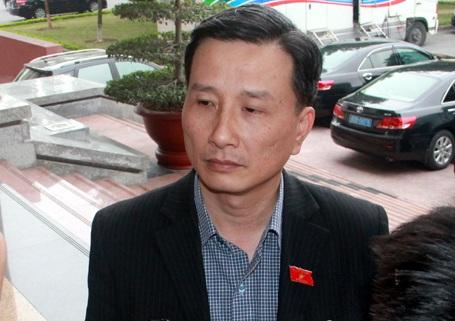 Phó Chủ nhiệm Ủy ban Khoa học Công nghệ môi trường Lê Quang Huy